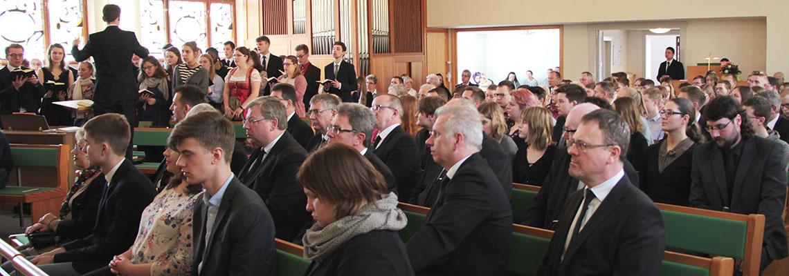 Jugendgottesdienst des Bezirkes in Eberswalde